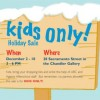 Kids Only Holiday Sale – Opens December 2nd