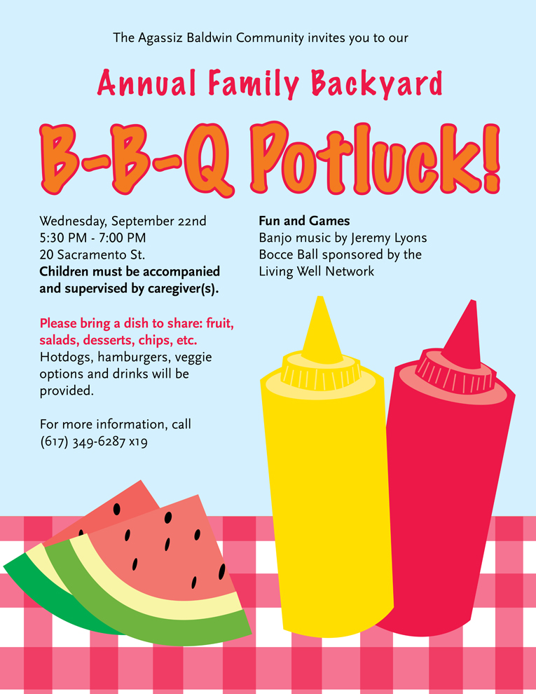 ... Barbecue Potluck - September 22nd - Agassiz Baldwin Community