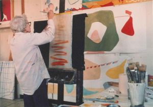 Maud_Morgan_in_her_studio